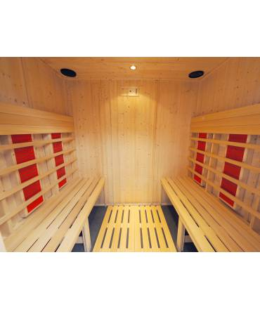 Cabine Infrarouge 5 pers.
