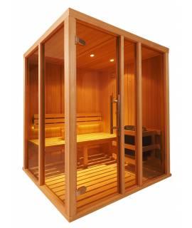 Sauna Vision 1 à 2 pers. 1m68 x 1m37