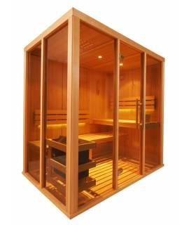 Sauna Vision 2 à 3 pers. 1m98 x 1m37