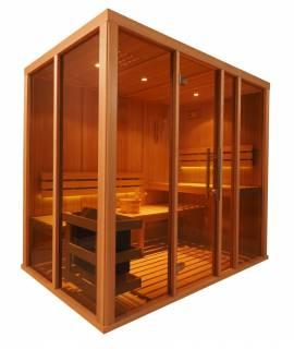Sauna Vision 3 à 4 pers. 2m29 x 1m37