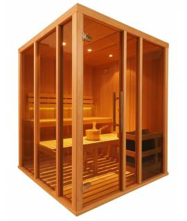 Sauna Vision 2 à 3 pers. 1m68 x 1m68