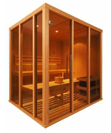 Sauna Vision 3 à 4 pers. 1m98 x 1m68