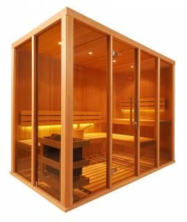 Sauna Vision 4 à 5 pers. 2m60 x 1m37