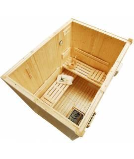 Sauna Finlandais 2 à 3 pers. 1m86 x 1m35