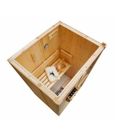 Sauna Finlandais 1 personne 1m25 x 1m04