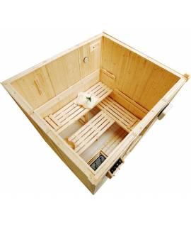 promotions exceptionnelles sur les cabines sauna. Black Bedroom Furniture Sets. Home Design Ideas