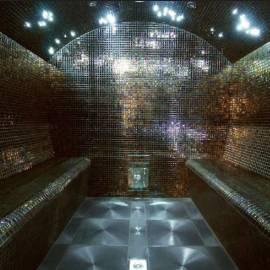 Cabine Hammam En Mosaïques Avec Générateur De Vapeur Professionnel   La  Maison Du Sauna